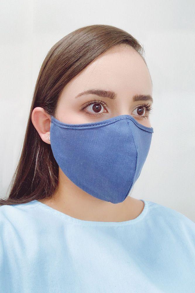 Máscara Unissex Anatômica Reutilizável de Algodão