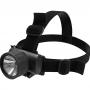 Lanterna de cabeça NTK com 2 fitas elásticas ajustáveis, foco com ajuste de ângulo e resistente a água Skiper Aqua
