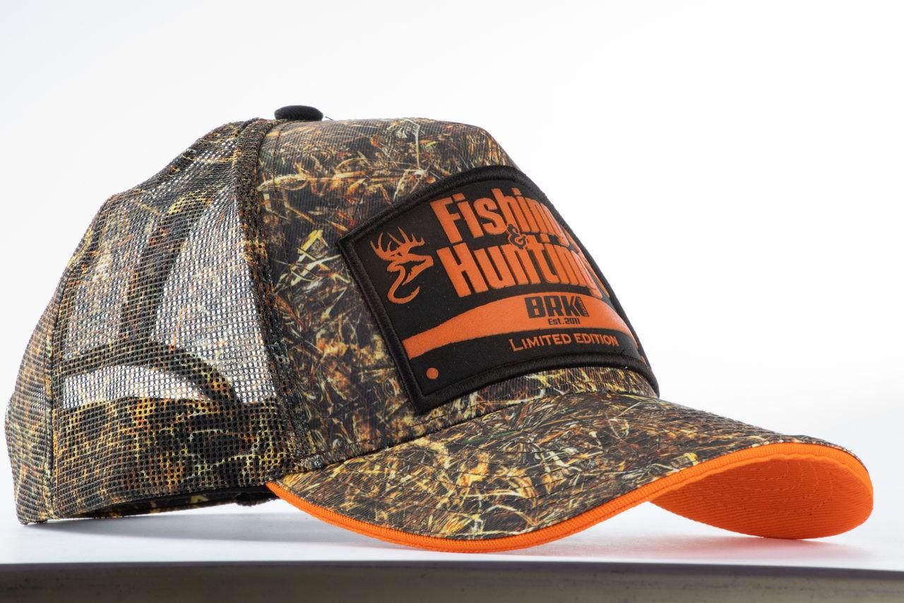 Boné de Pesca Fishing Hunting Real Tree Camuflado