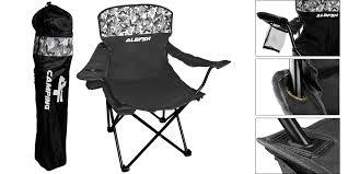 Cadeira de Pesca e Camping Albatroz com apoio de braço HBA-23MH