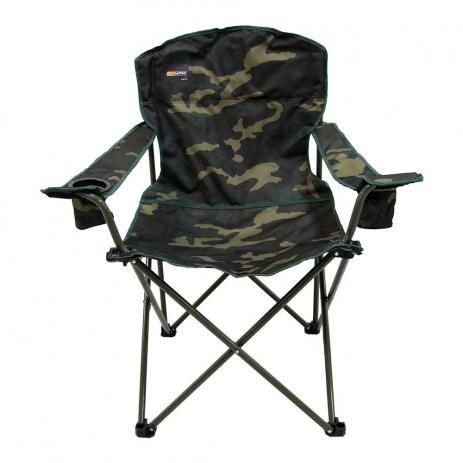 Cadeira de Praia Dobrável Pandera Camuflada Nautika Ntk 2 Porta Copos + Bolsa