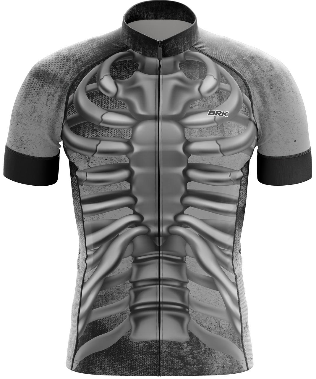 Camisa Ciclismo Brk Esqueleto com FPU 50+