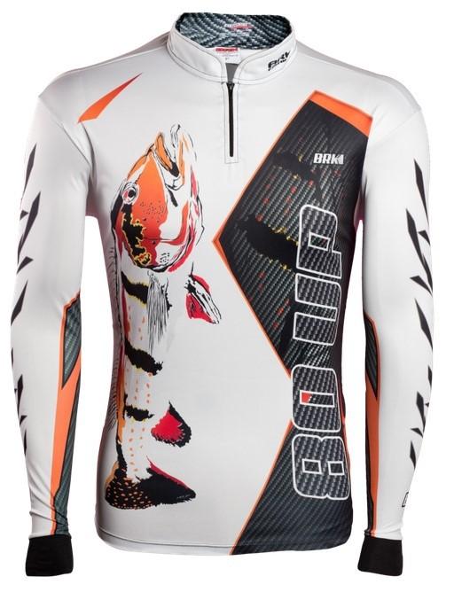 Camisa de Pesca Brk 80UP Preta com FPU 50+