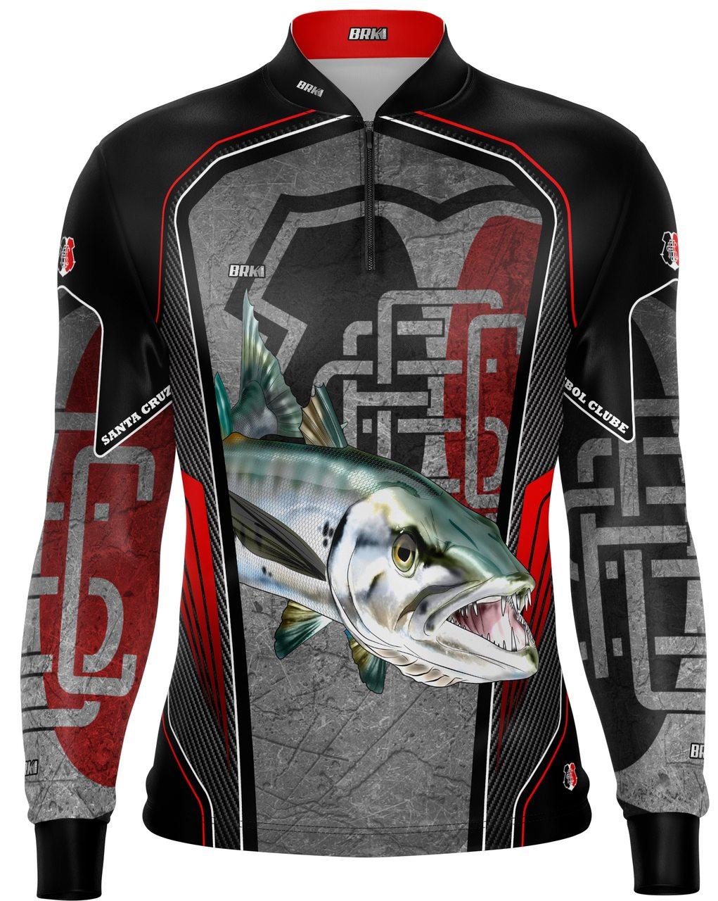 Camisa de Pesca Brk Barracuda Futebol 35 com fpu 50+