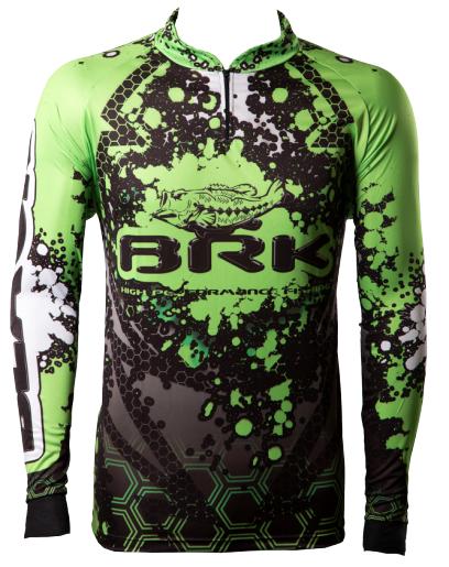 Camisa de Pesca Brk Black Bass com FPU 50+