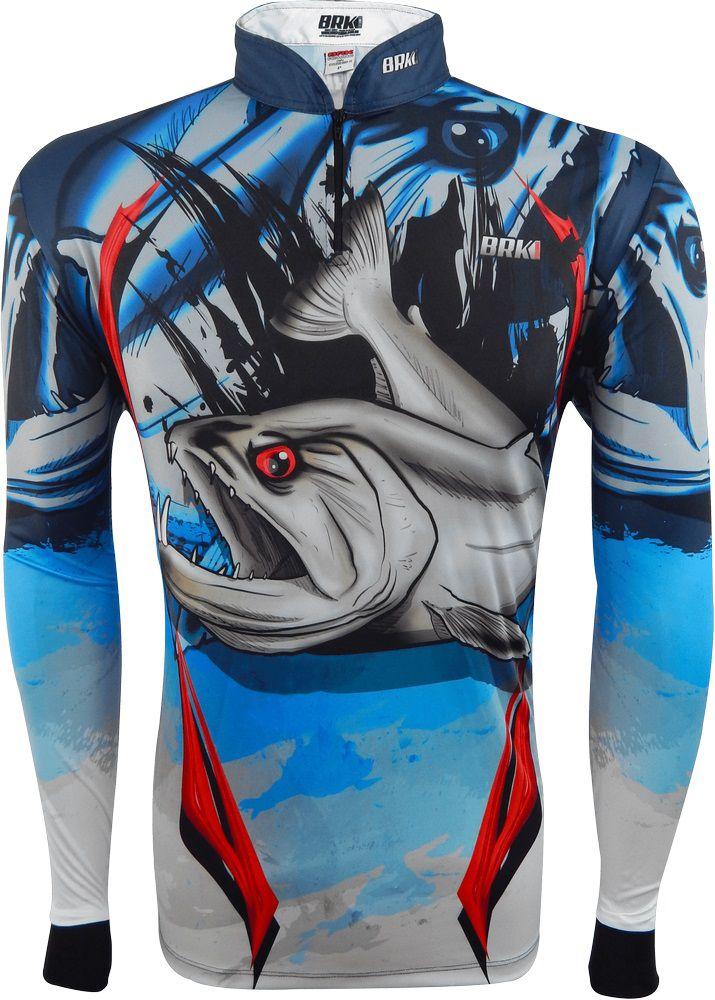 Camisa de Pesca Brk Cachorra com FPU 50+
