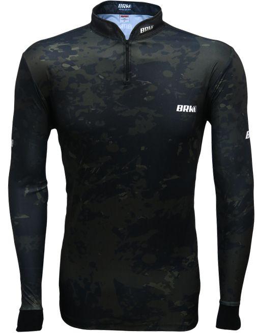 Camisa de Pesca Brk Camuflada com FPU 50+