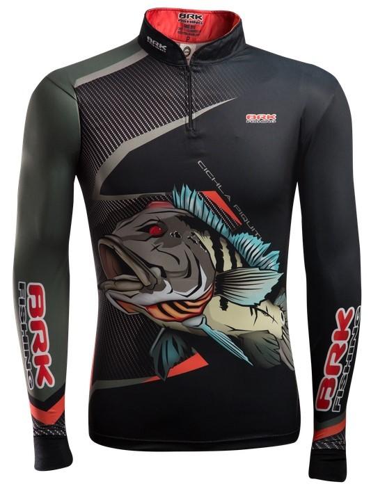Camisa de Pesca Brk Cichila Piquiti com FPU 50+