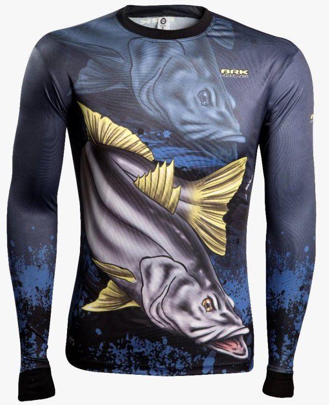 Camisa de Pesca Brk Combat Fish Robalo 1.0 com FPU 50+