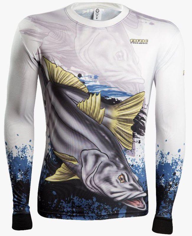Camisa de Pesca Brk Combat Fish Robalo 2.0 com FPU 50+