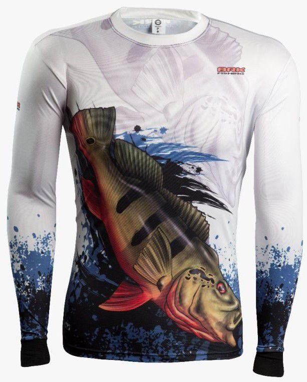 Camisa de Pesca Brk Combat Fish Tucunaré Açu 2.0 com FPU 50+