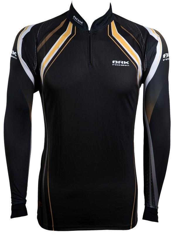 Camisa de Pesca Brk Dark Series 01 com FPU 50+