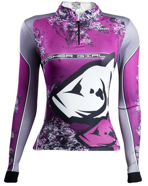 Camisa de Pesca Brk Feminina Fisher Girl 1.0 com FPU 50+