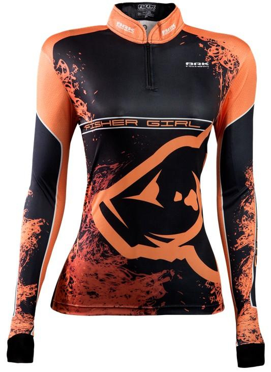 Camisa de Pesca Brk Feminina Fisher Girl 2.0 com FPU 50+