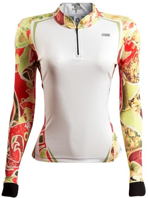 Camisa de Pesca Brk Feminina Flowers 03 com FPU 50+