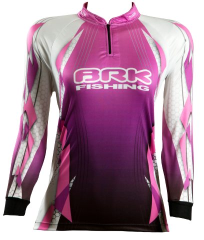 Camisa de Pesca Brk Feminina Hard Girl com FPU 50+