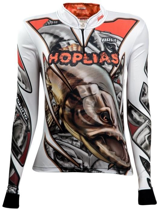 Camisa de Pesca Brk Feminina Hoplias com FPU 50+