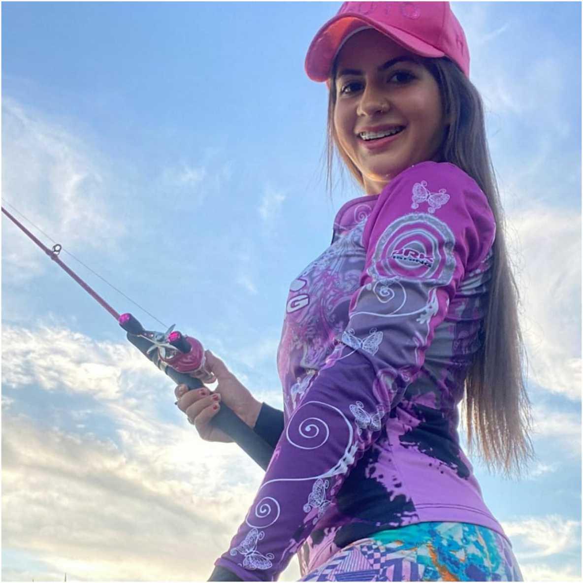 Camisa de Pesca Brk Feminina Lady com FPU 50+
