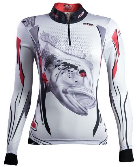 Camisa de Pesca Brk Feminina Peacock Silver 1.0 com FPU 50+