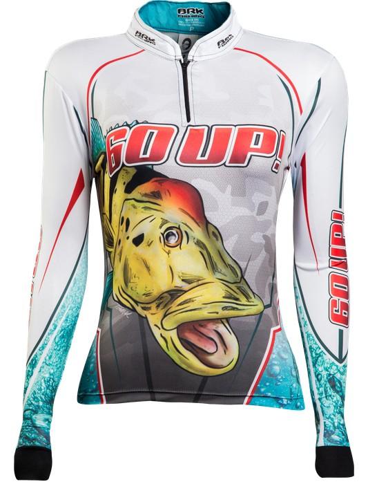 Camisa de Pesca Brk Feminina Tucunaré 60UP! 1.0 com FPU 50+