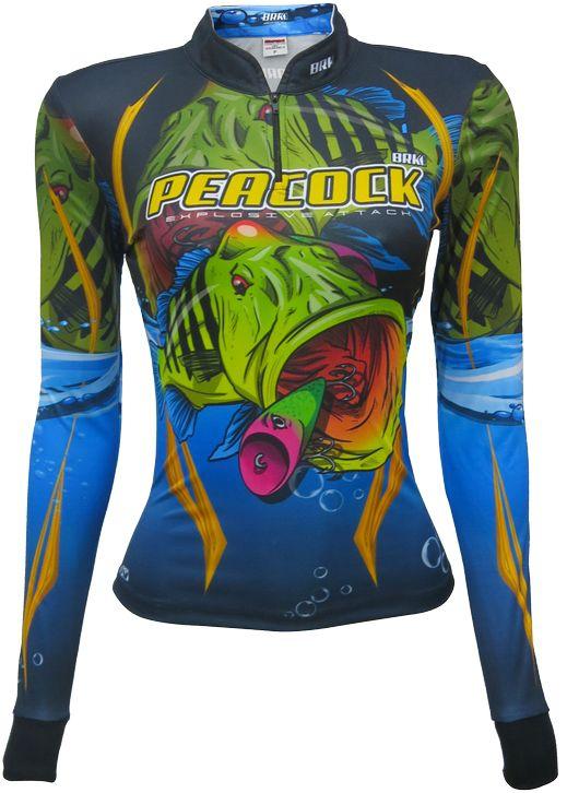 Camisa de Pesca Brk Feminina Tucunaré Explosive com FPU 50+