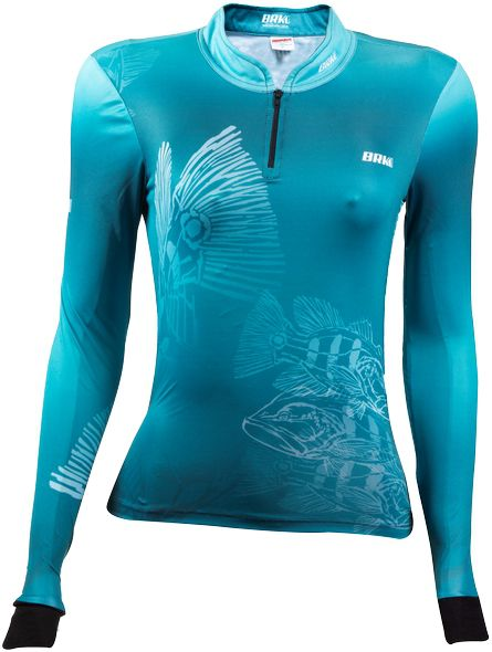 Camisa de Pesca Brk Feminina Tucunaré Underwater com FPU 50+