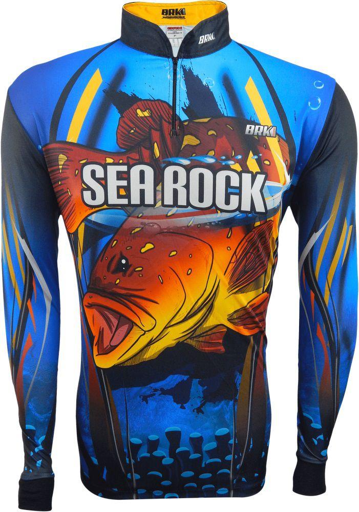 Camisa de Pesca Brk Garoupa com FPU 50+