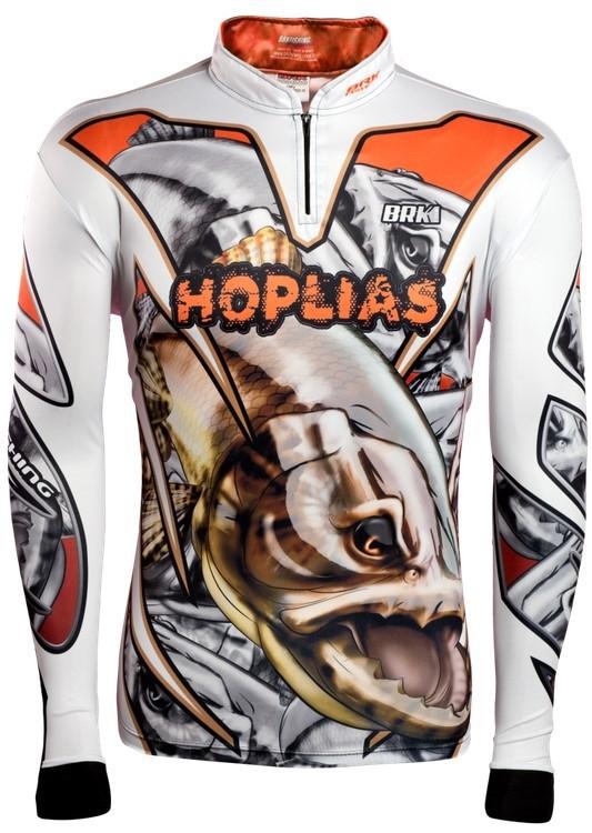 Camisa de Pesca Brk Hoplias com FPU 50+