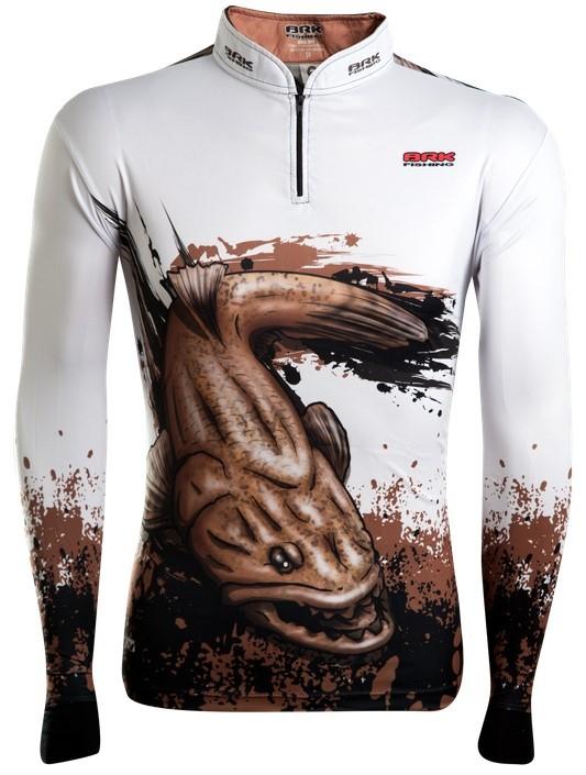 Camisa de Pesca Brk Master Combat Fish Extreme Traira 2.0 com FPU 50+