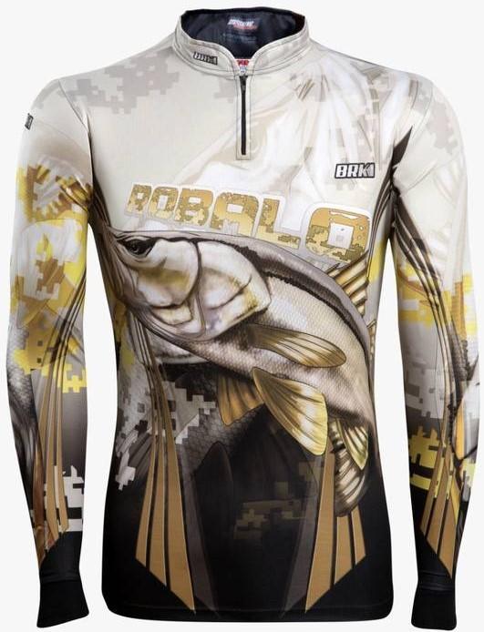 Camisa de Pesca Brk New Robalo 1.0 com FPU 50+