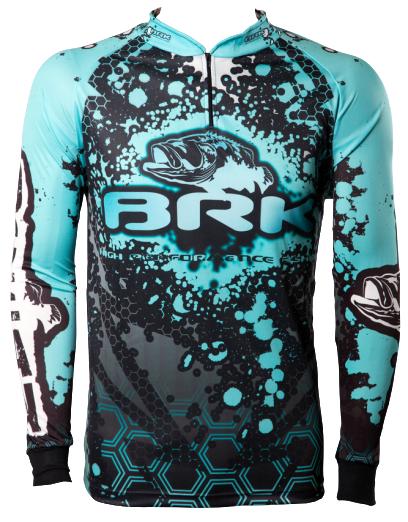 Camisa de Pesca Brk Ocean Hard com FPU 50+