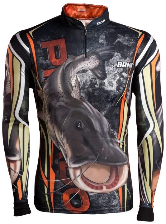 Camisa de Pesca Brk Pintado Camo com FPU 50+