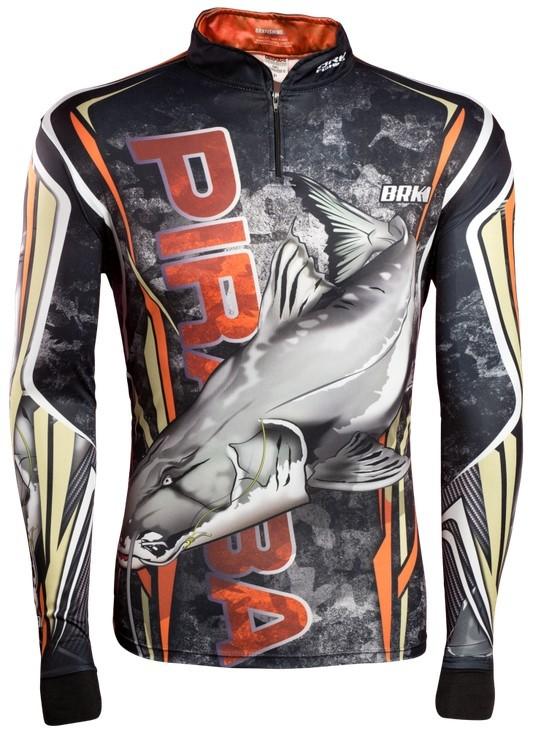 Camisa de Pesca Brk Piraiba Camo com FPU 50+