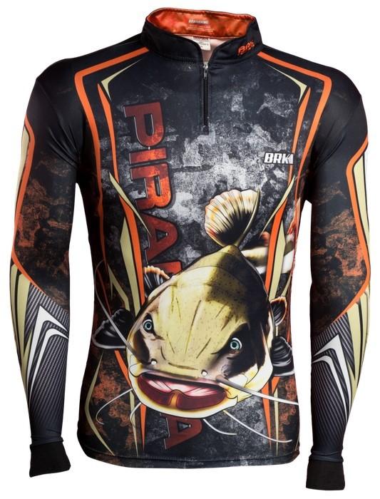Camisa de Pesca Brk Pirarara Camo com FPU 50+