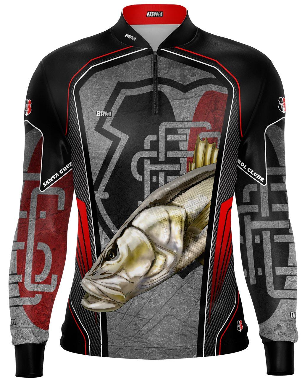 Camisa de Pesca Brk Robalo Futebol 33 com fpu 50+