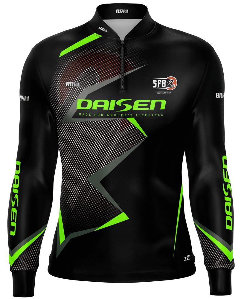 Camisa de Pesca Brk SFB Daisen com fps 50+