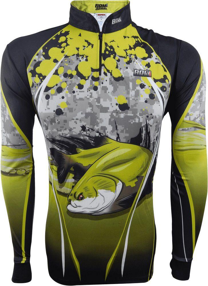 Camisa de Pesca Brk Tambaqui 03 com FPU 50+