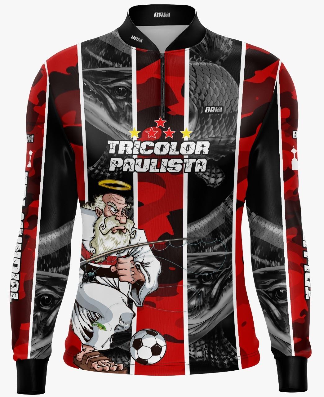 Camisa de Pesca Brk Traíra Futebol 82 com FPU 50+