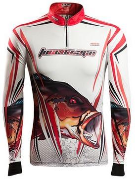Camisa de Pesca Brk Tucuna Açu Amazon 1.0 com FPU 50+