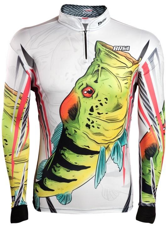 Camisa de Pesca Brk Tucuna Azul 1.0 com FPU 50+