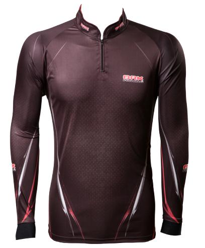 Camisa de Pesca Brk Tucuna Black com FPU 50+