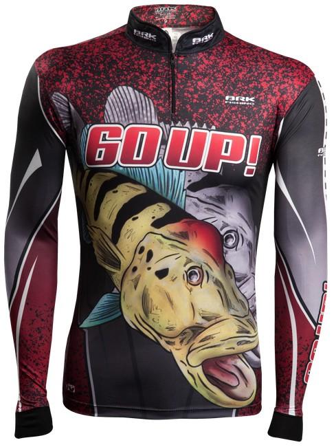 Camisa de Pesca Brk Tucunaré 60UP! Vertical com FPU 50+