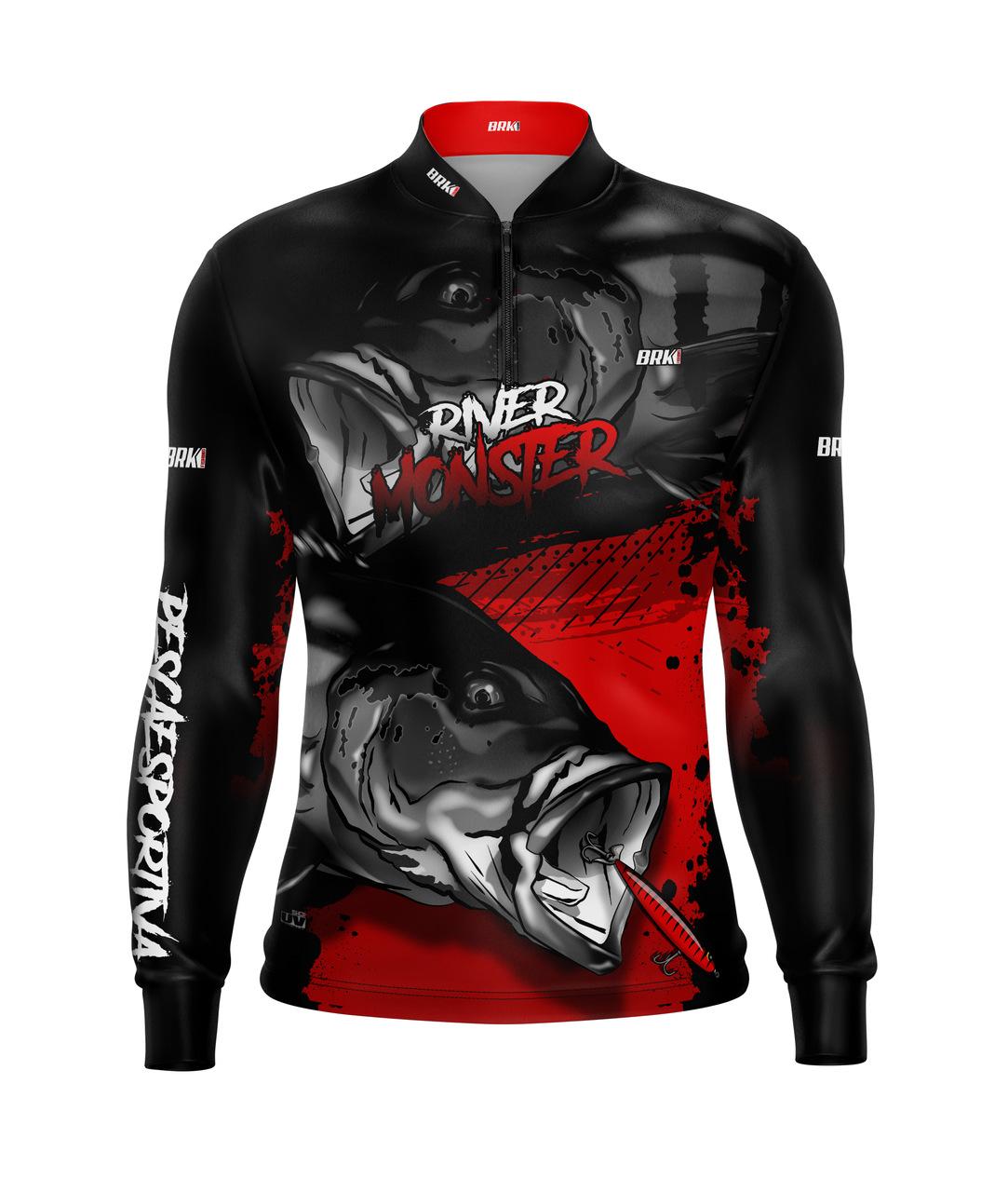 Camisa de Pesca Brk Tucunaré Monster com Proteção UV 50+