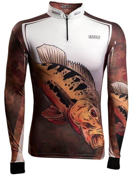 Camisa de Pesca Brk Tucunaré Popoca 1.0 com FPU 50+