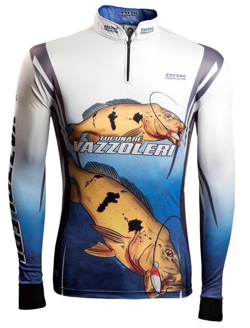 Camisa de Pesca Brk Tucunaré Vazzoleri 2.0 com FPU 50+