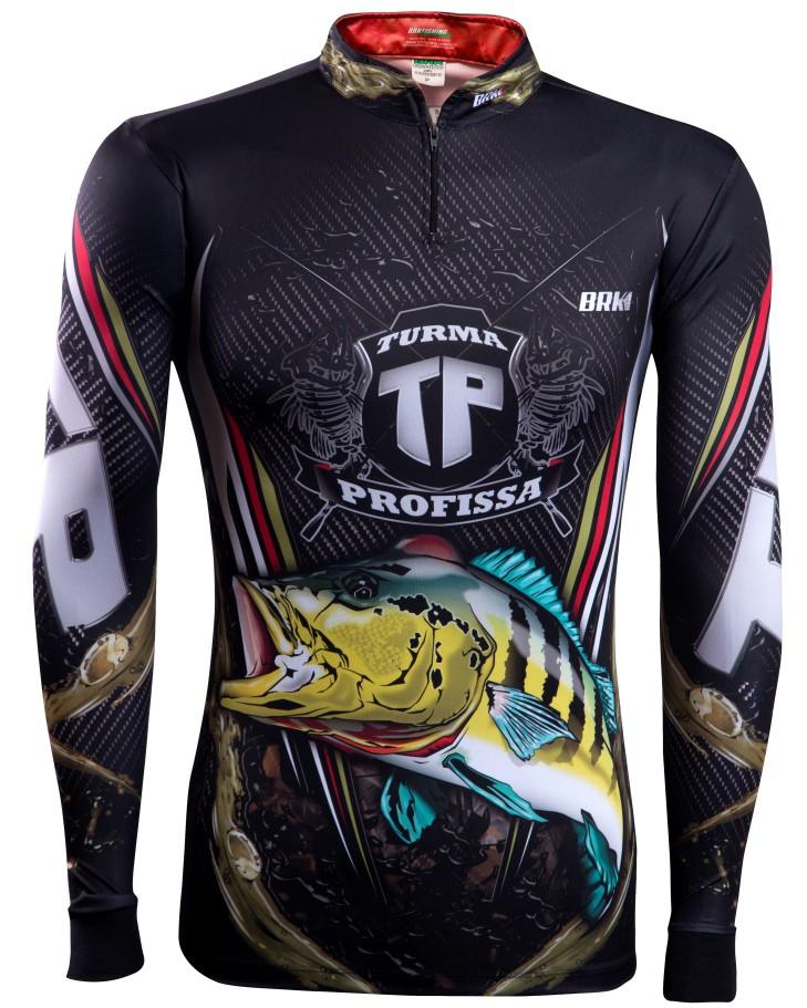 Camisa de Pesca Brk Turma Profissa 3.0 com FPU 50+