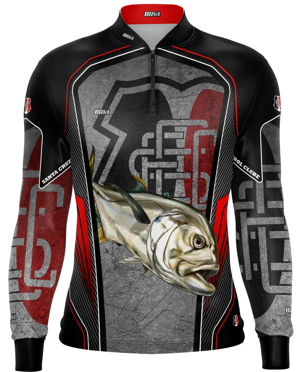 Camisa de Pesca Brk Xaréu Futebol 34 com fpu 50+