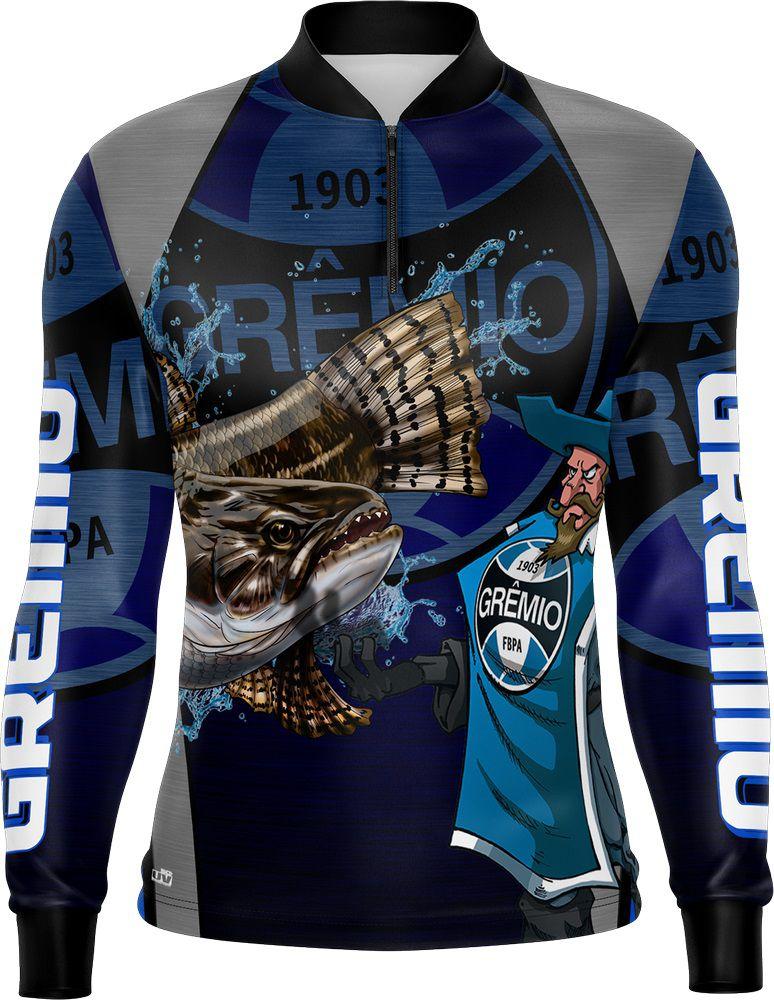 Camisa de Pesca Traíra Futebol 09 Com Fps 50+