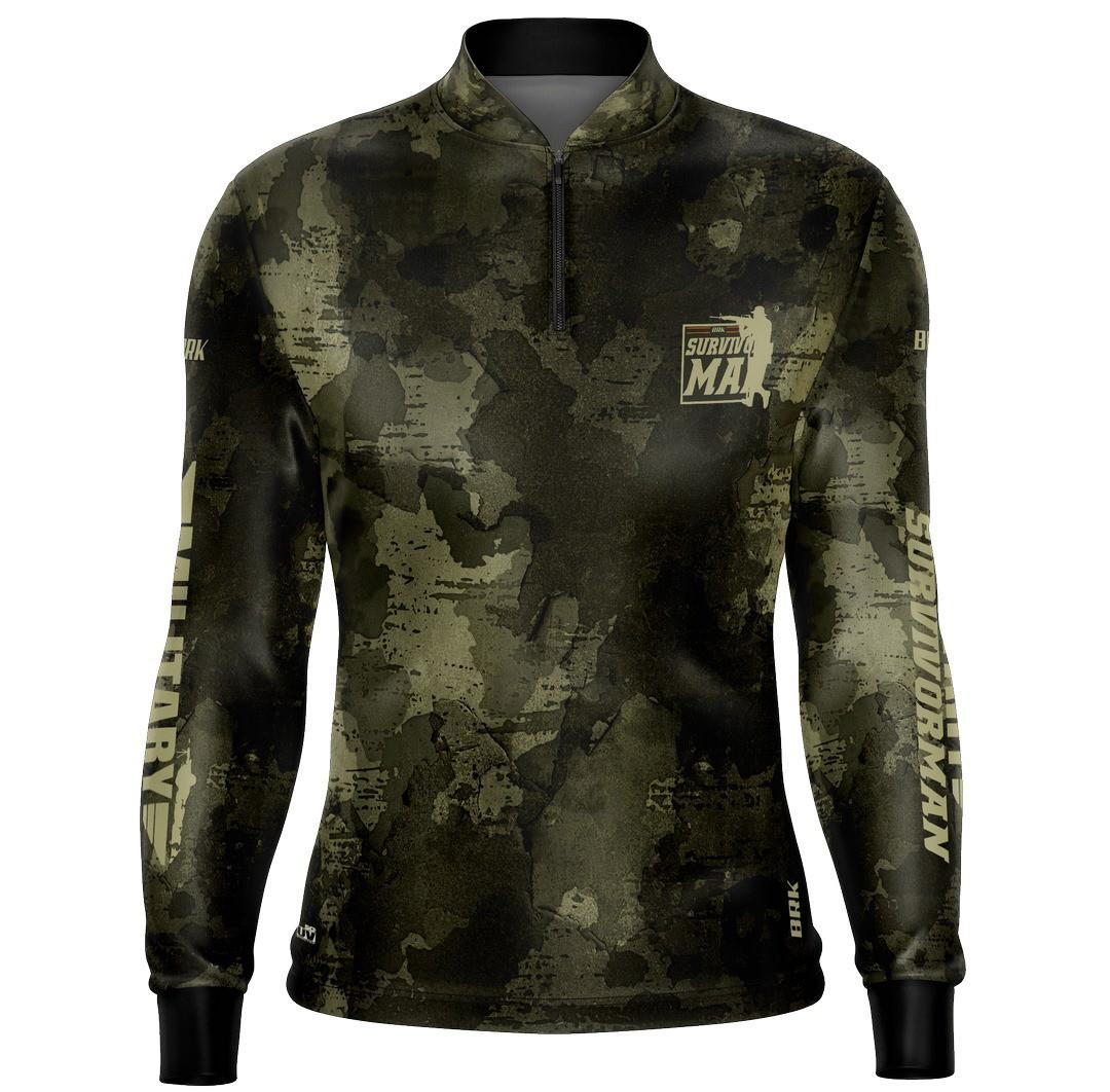 Camiseta Adventure Military 01 com fpu 50+