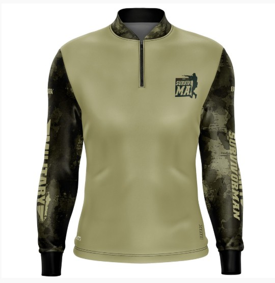 Camiseta Adventure Military 02 com fpu 50+